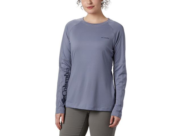 Columbia Windgates Camiseta Manga Larga Mujer, new moon